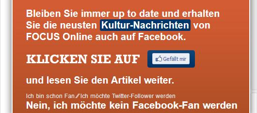 Facebook Fangate
