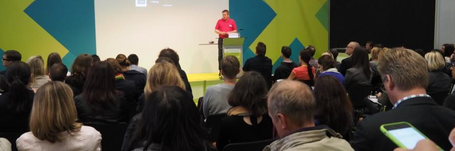 Jens Fuderholz in der Speakers Area
