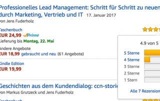 Professionelles Lead Management Rezensionen