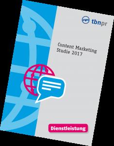 Content Marketing Studie Dienstleistung
