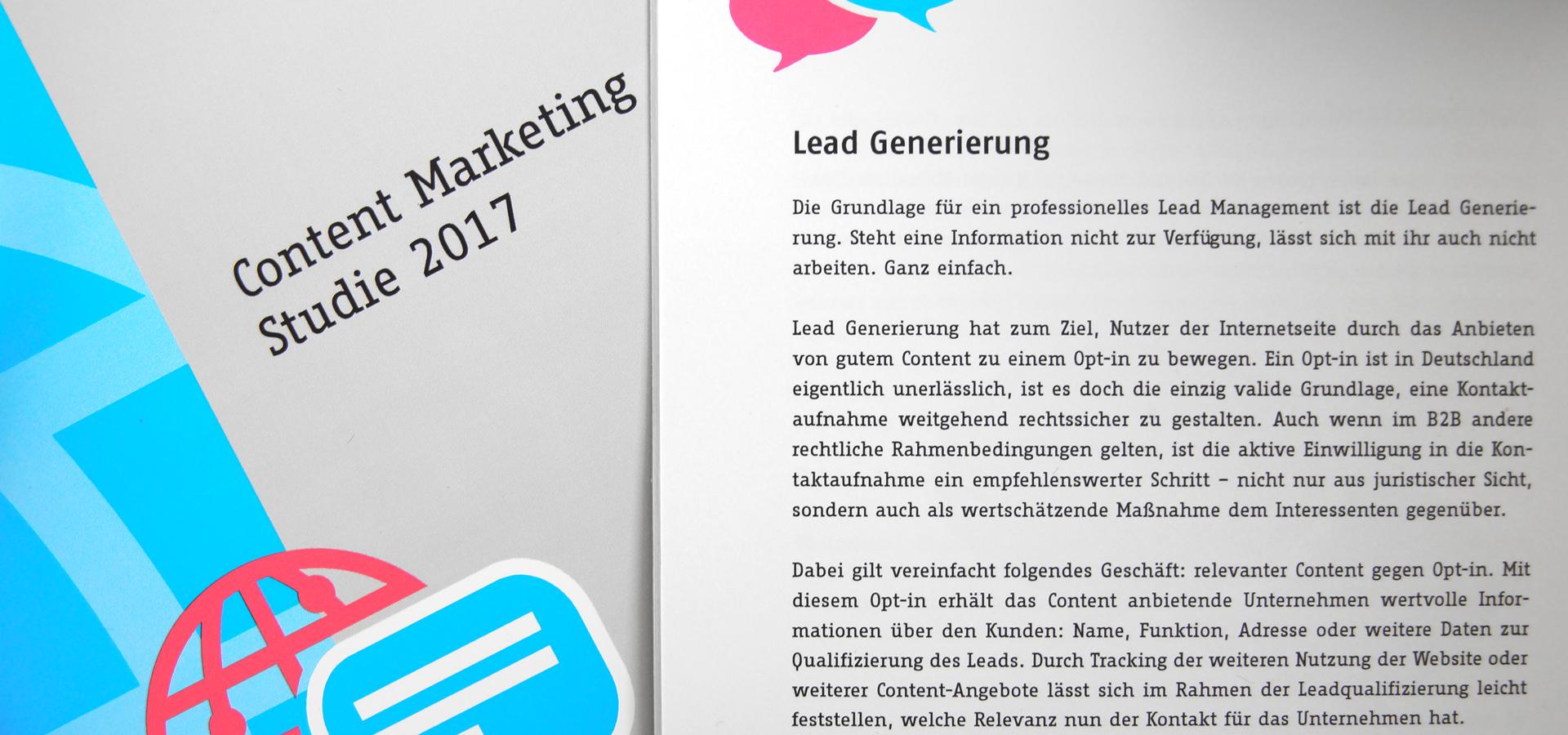 Studie – Content Marketing und Leadgenerierung